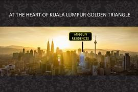 马来西亚-吉隆坡市中心奢侈豪华公寓ANGGUN RESIDENCES